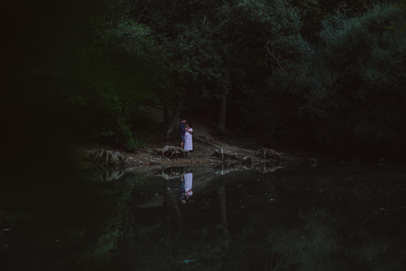 kerstin maier photography - babybauch paarshoot outdoors - sina + patrick