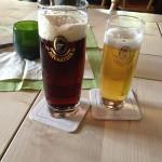 Und das Bier.